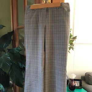 Express design studio Editor grey plaid pants (8)